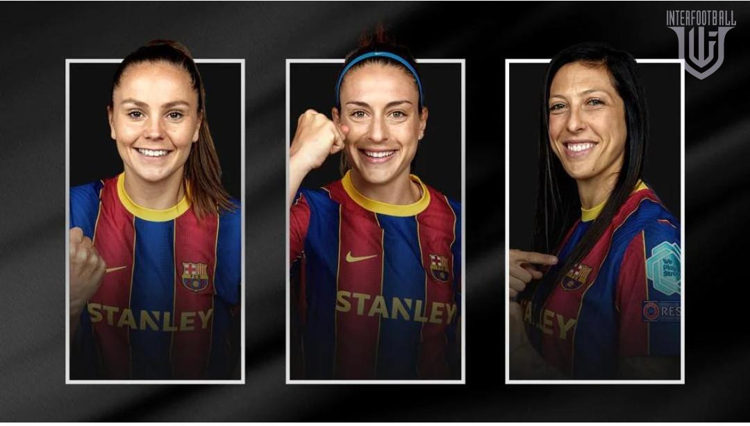 ՈՒԵՖԱ -ն հրապարակել է 2020/21 մրցաշրջանի «Լավագույն ֆուտբոլիստուհի» մրցանակի հավակնորդներին